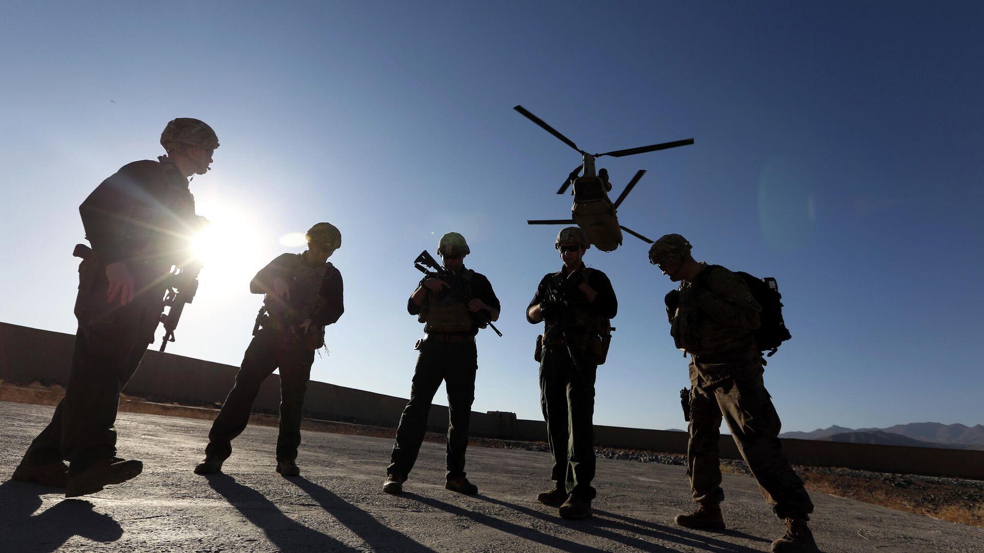Американские солдаты в провинции Логар, Афганистан. - РИА Новости, 1920, 15.04.2021