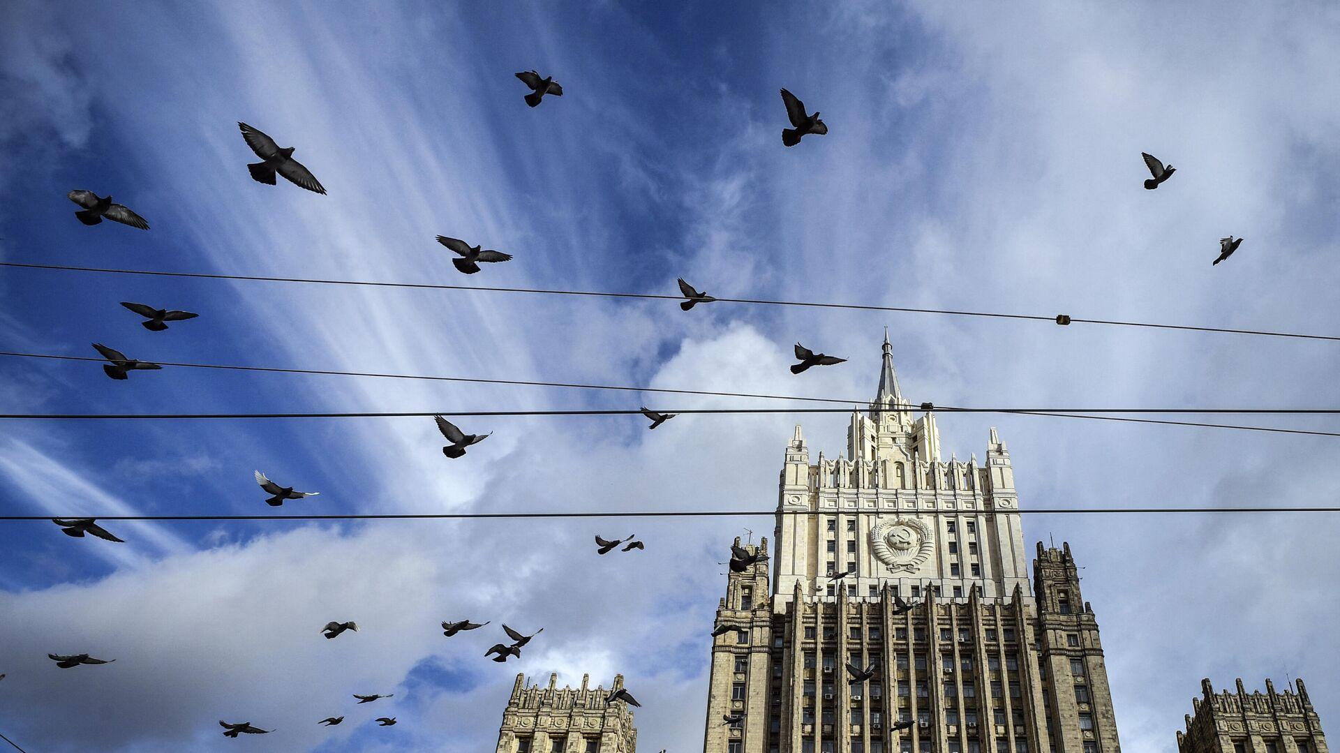 Здание МИД России - РИА Новости, 1920, 04.03.2021