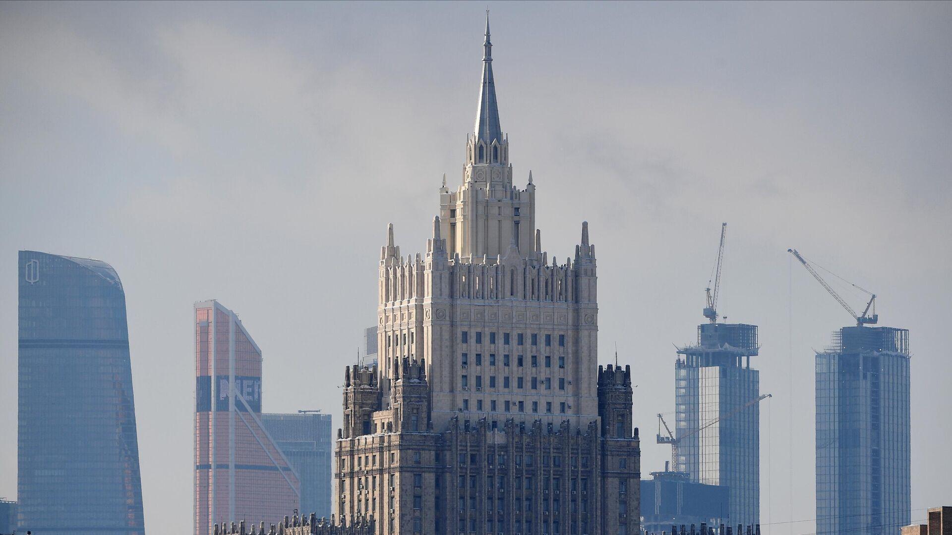 Здание МИД России в Москве - РИА Новости, 1920, 05.03.2021