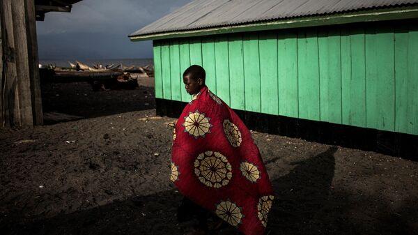 Конголезский мальчик из региона Итури