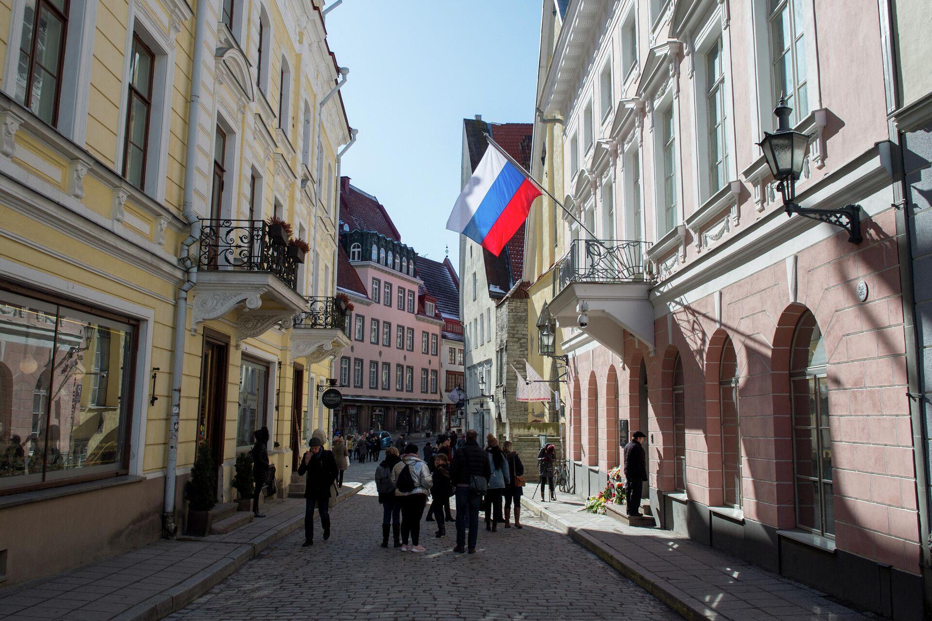 Посольство РФ в Таллине  - РИА Новости, 1920, 20.02.2021