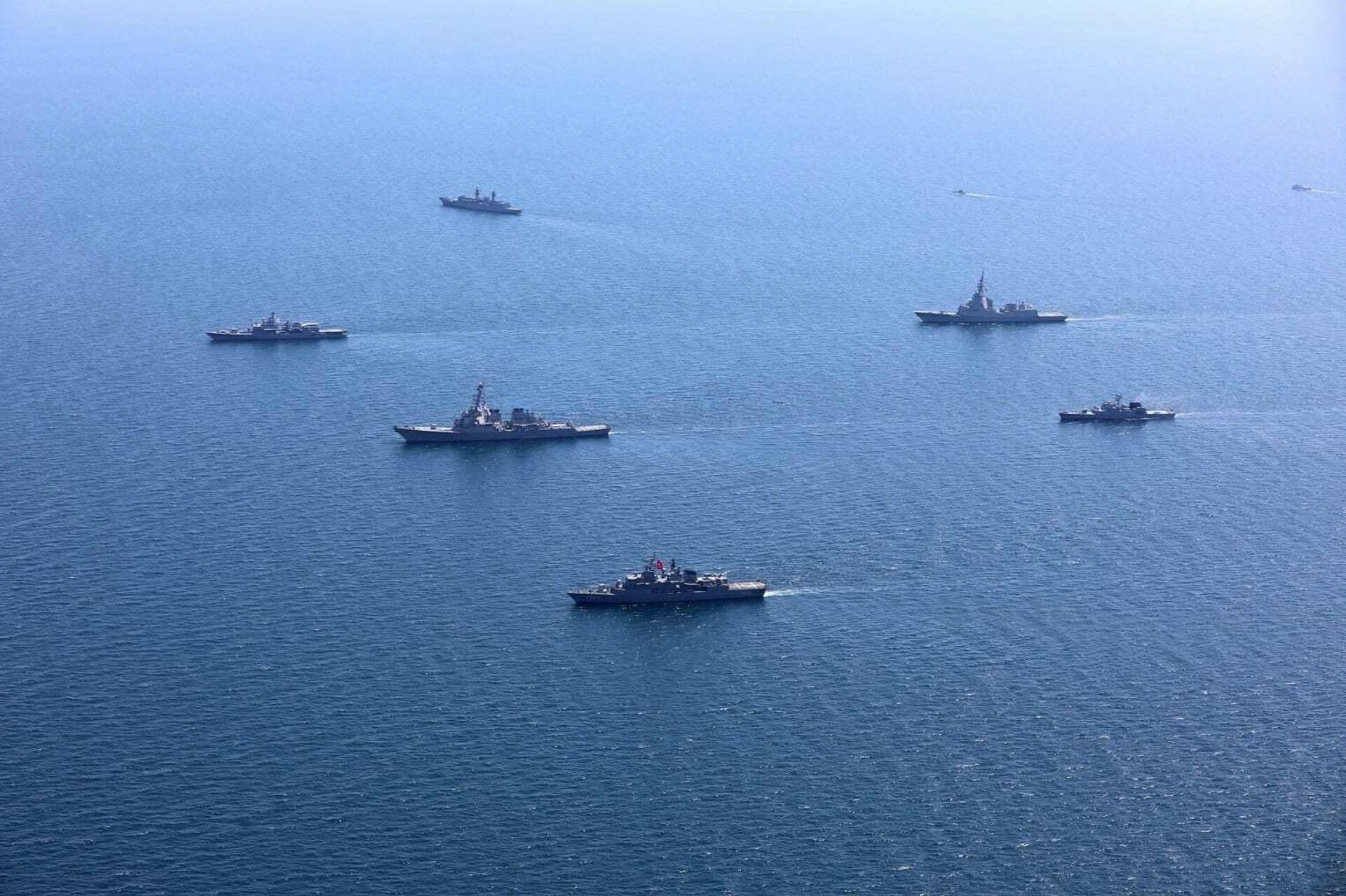 Учения стран НАТО и государств-партнеров Sea Breeze - 2020 в Черном море - РИА Новости, 1920, 09.06.2021
