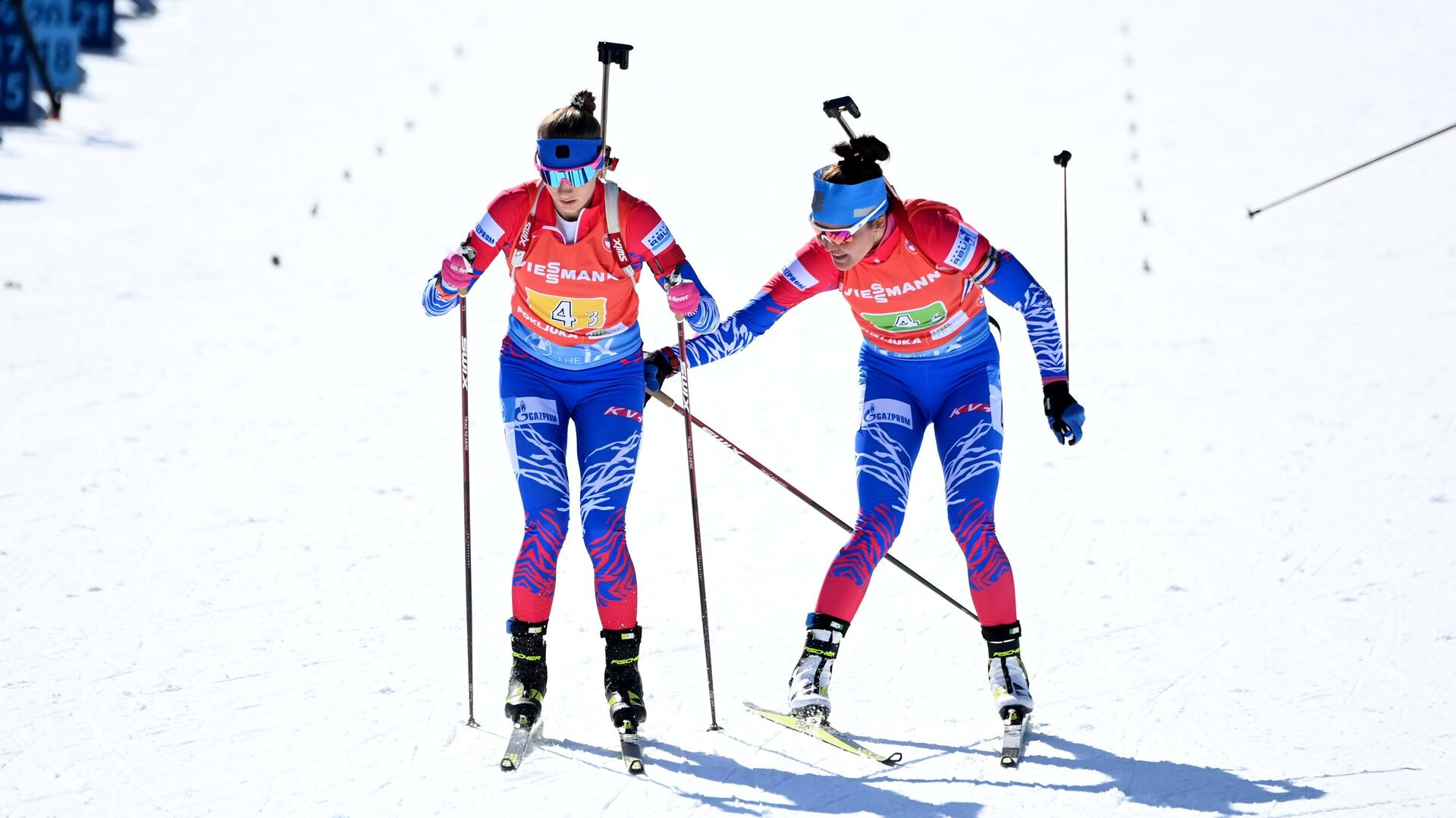Светлана Миронова и Татьяна Акимова (слева направо) - РИА Новости, 1920, 20.02.2021