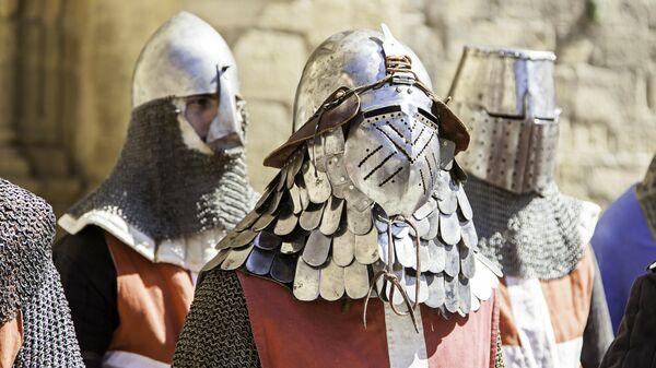 Доспехи рыцарей-тамплиеров