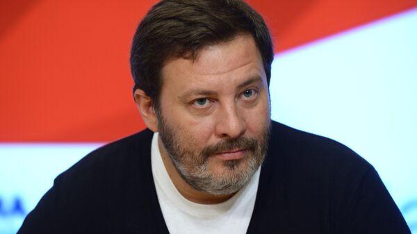 Писатель сценарист Сергей Минаев в Международном мультимедийном пресс-центре МИА Россия сегодня