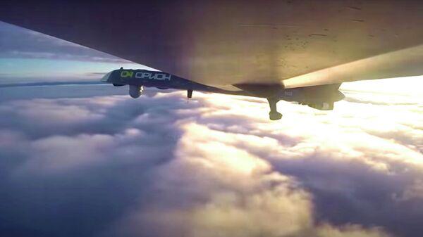 Боевой полет беспилотника Орион в Сирии. Кадр видео