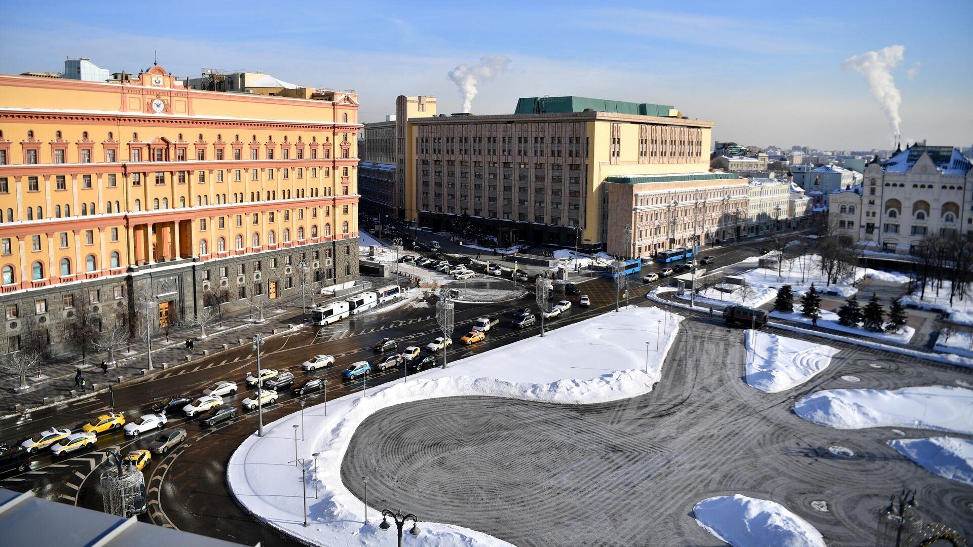 Здание Федеральной службы безопасности на Лубянской площади в Москве - РИА Новости, 1920, 25.02.2021