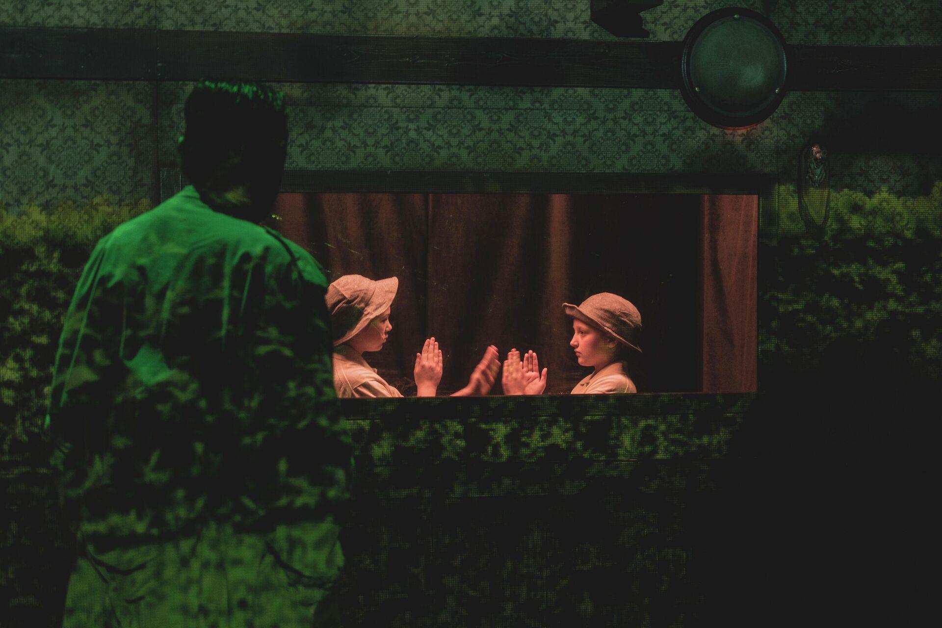Сцена из спектакля Благоволительницы - РИА Новости, 1920, 26.02.2021