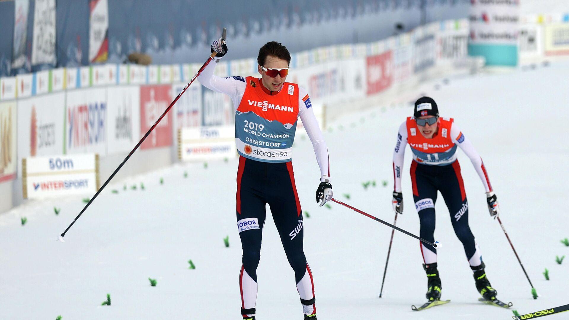 Норвежский лыжный двоеборец Ярл Магнус Риибер - РИА Новости, 1920, 26.02.2021
