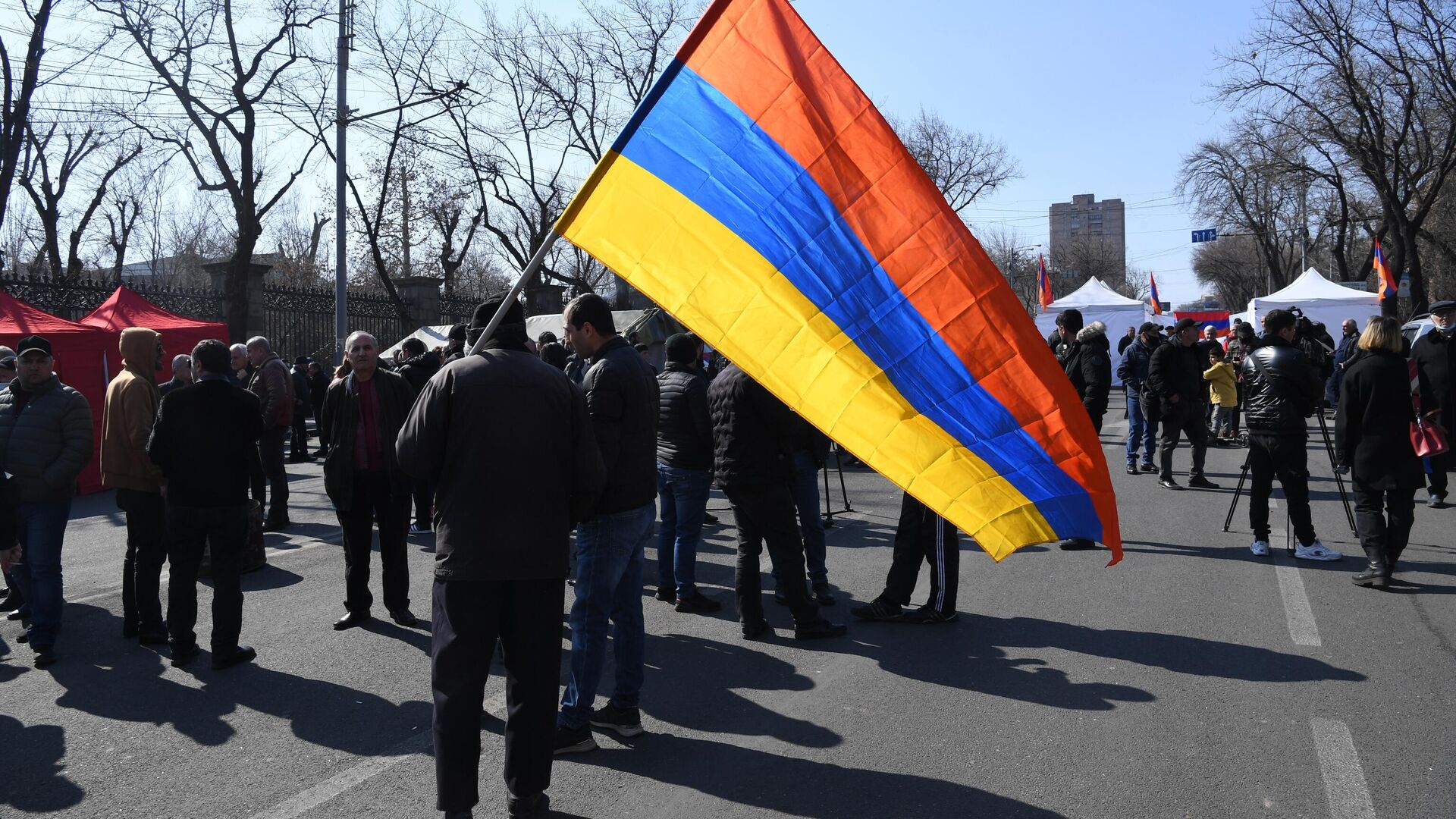 Акция протеста оппозиции в Ереване - РИА Новости, 1920, 06.03.2021