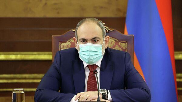 Никол Пашинян на заседании совбеза Армении по вопросам внутренней и внешней безопасности