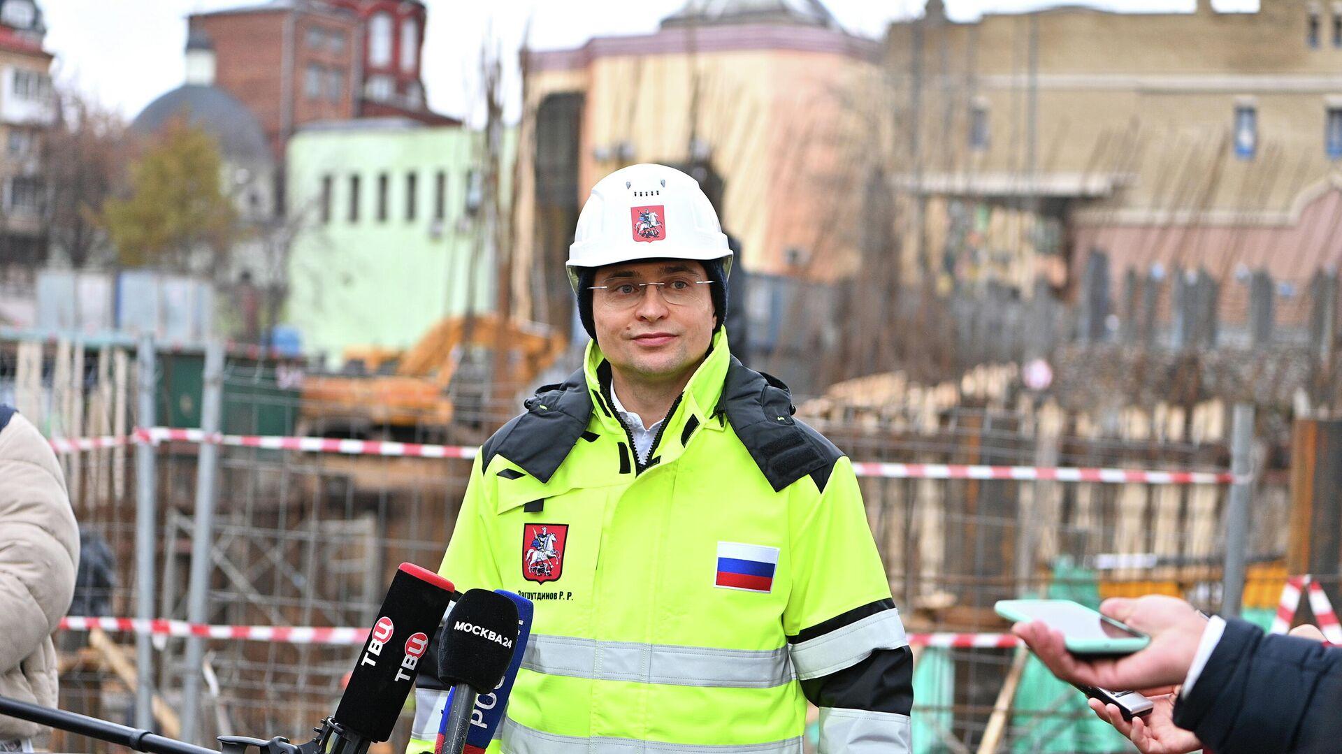 Глава департамента строительства Москвы Рафик Загрутдинов - РИА Новости, 1920, 03.03.2021