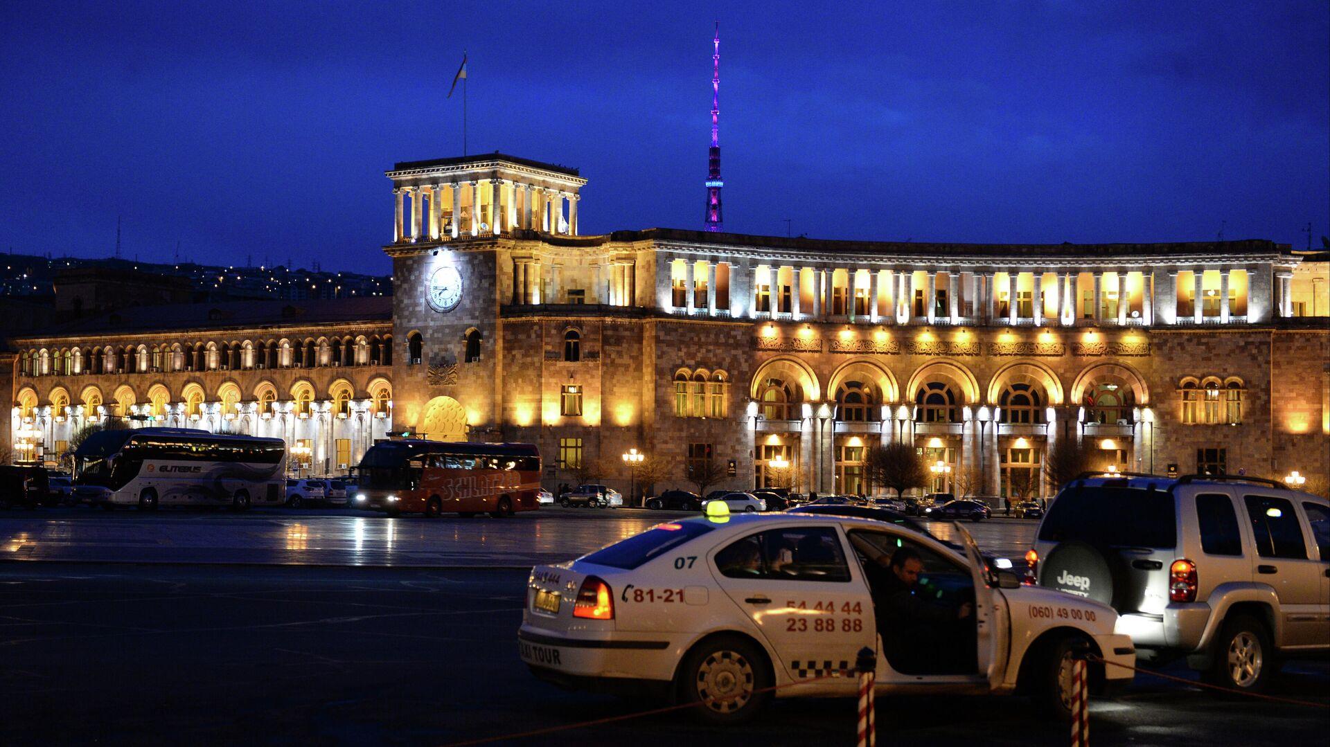 Площадь Республики в городе Ереване - РИА Новости, 1920, 30.07.2021