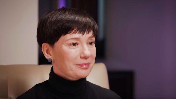 Скриншот видеоинтервью Чулпан Хаматовой