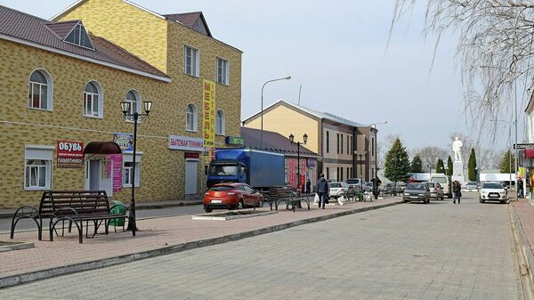 Центральная часть города Скопина Рязанской области