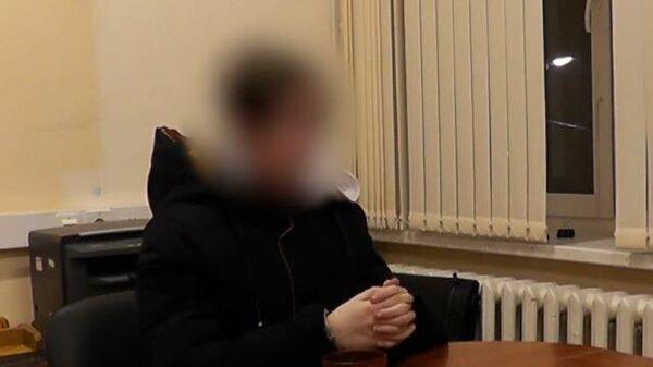 Показания подростка, подозреваемого в убийстве своей семьи. Кадры СК РФ