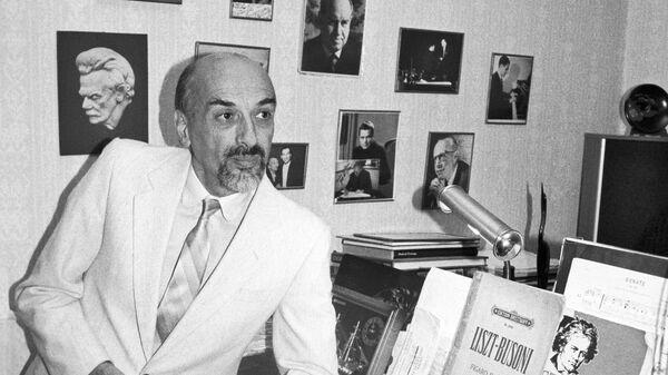 Русский пианист и педагог Дмитрий Башкиров
