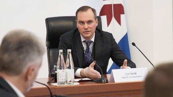 Временно исполняющий обязанности Главы Мордовии Артём Здунов