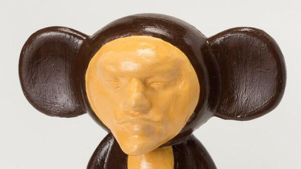 Выставка образов Ленина в галерее ART4. Маяна Насыбуллова. Ленин-Чебурашка
