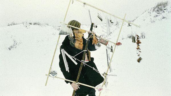 Художник Никита Алексеев, перформанс Шум (Noise), 1978