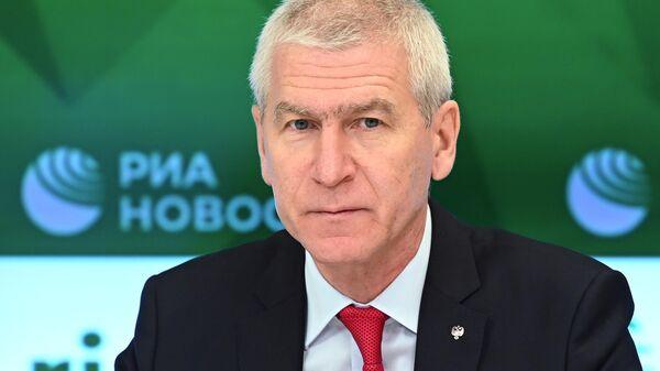 П/к министра спорта РФ О. Матыцина