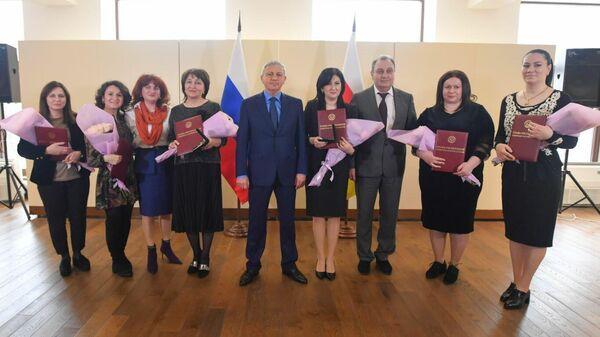Торжественная церемония награждения призеров конкурса Лучший врач Северной Осетии