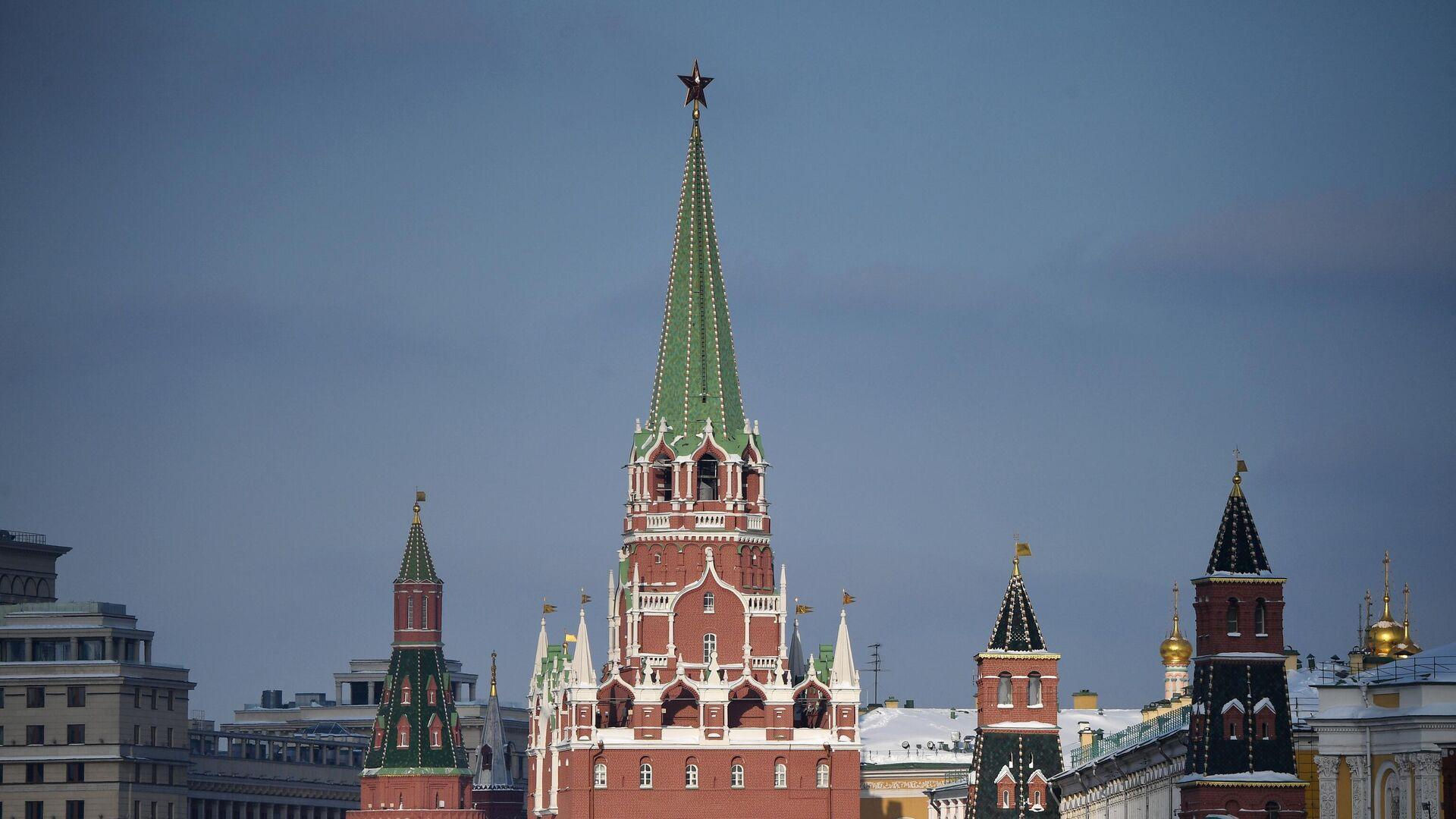 Московский Кремль - РИА Новости, 1920, 20.03.2021