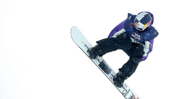 ASPEN, COLORADO - MARCH 14: Mark McMorris of Canada ompetes in the men's snowboard big air qualifier during Day 5 of the Aspen 2021 FIS Snowboard and Freeski World Championship at Buttermilk Ski Resort on March 14, 2021 in Aspen, Colorado.   Sean M. Haffey/Getty Images/AFP (Photo by Sean M. Haffey / GETTY IMAGES NORTH AMERICA / Getty Images via AFP)