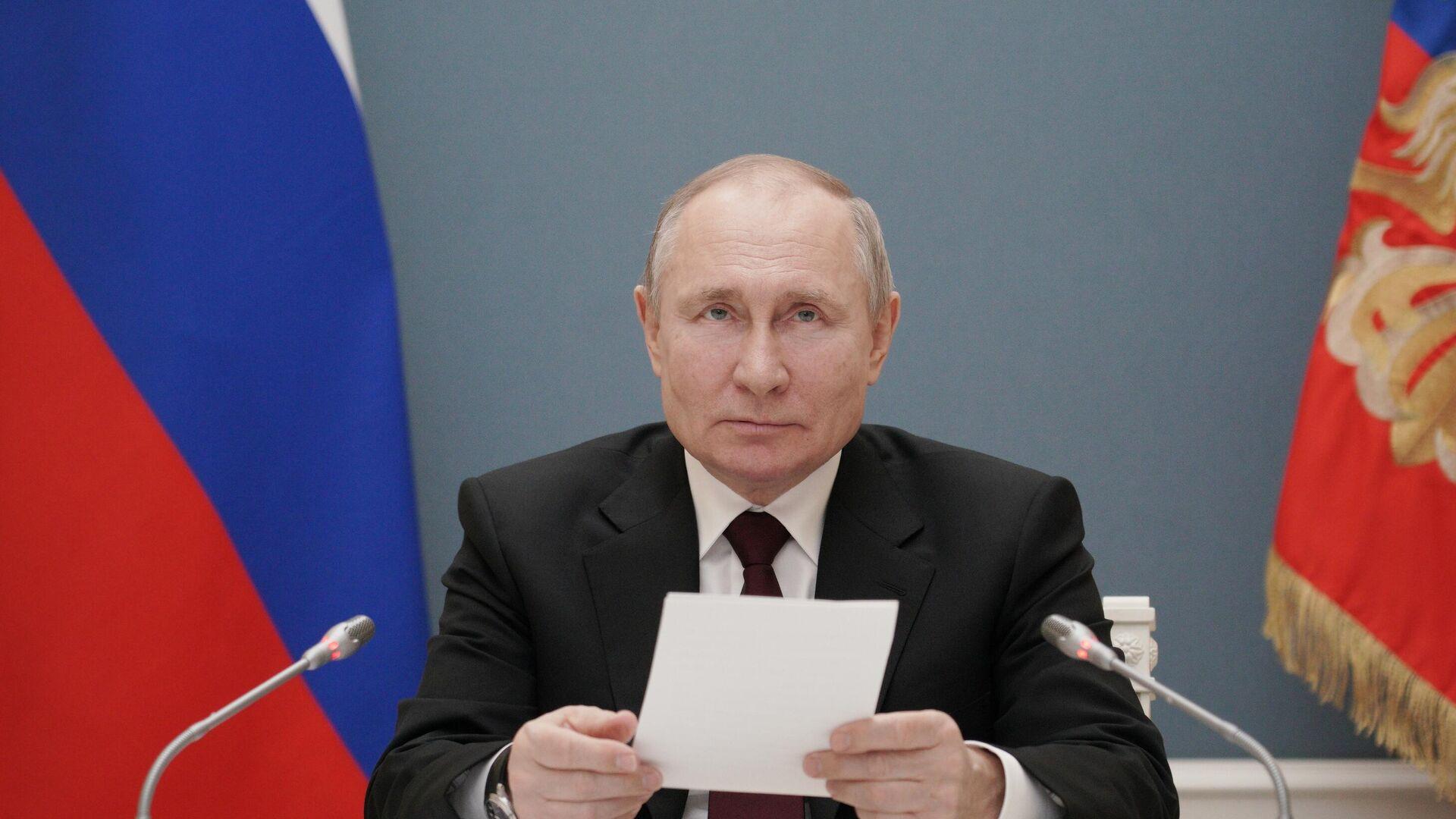 Президент РФ Владимир Путин - РИА Новости, 1920, 05.04.2021