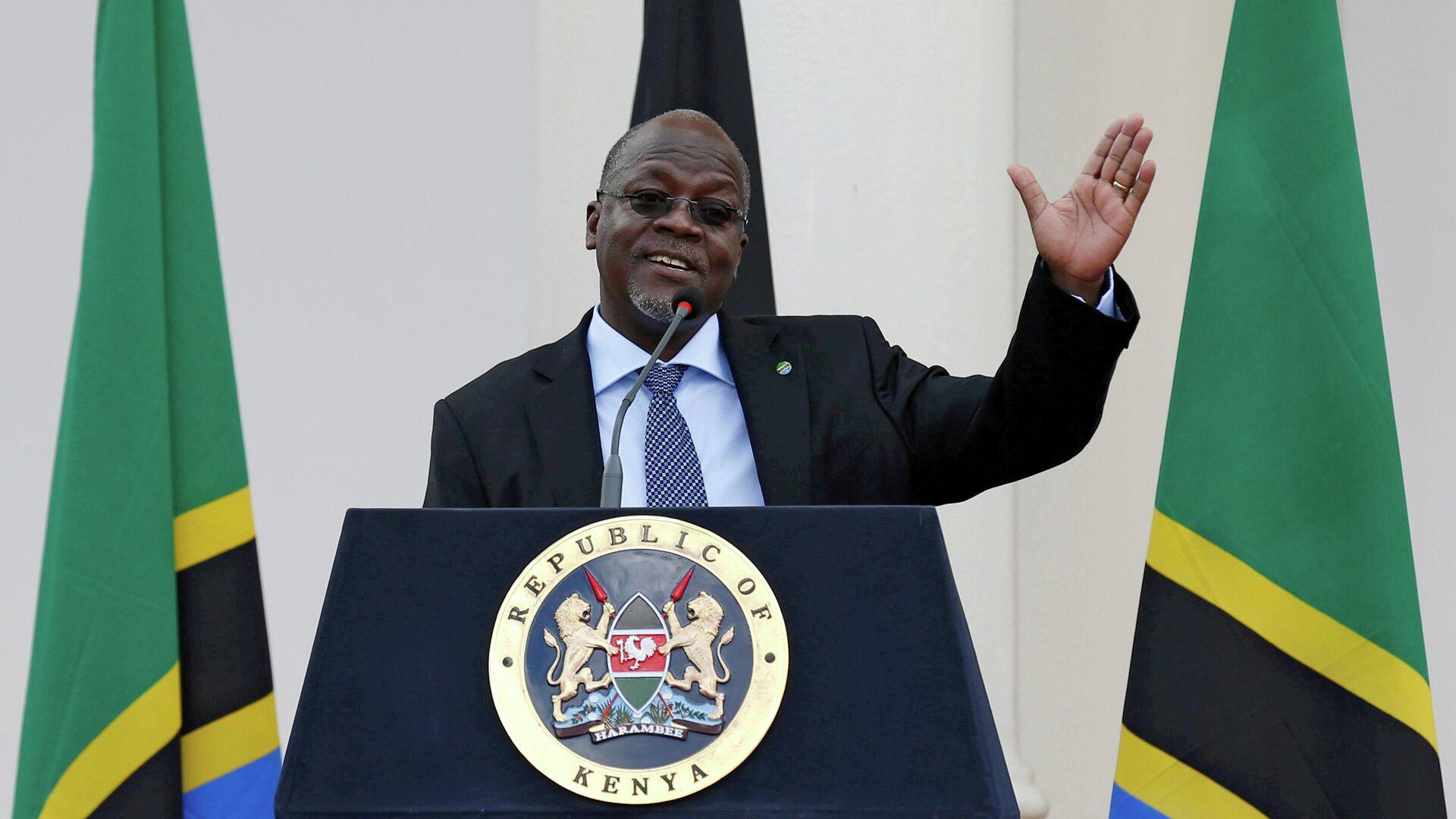 Президент Танзании Джон Магуфули - РИА Новости, 1920, 18.03.2021