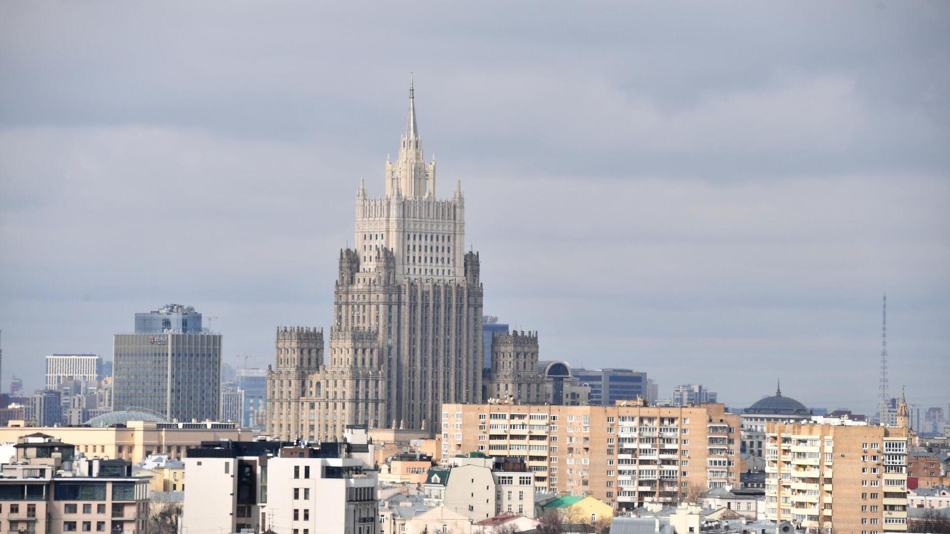 Здание Министерства иностранных дел РФ в Москве - РИА Новости, 1920, 16.04.2021