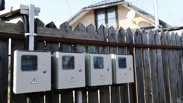 Счетчики электроэнергии на даче в Московской области