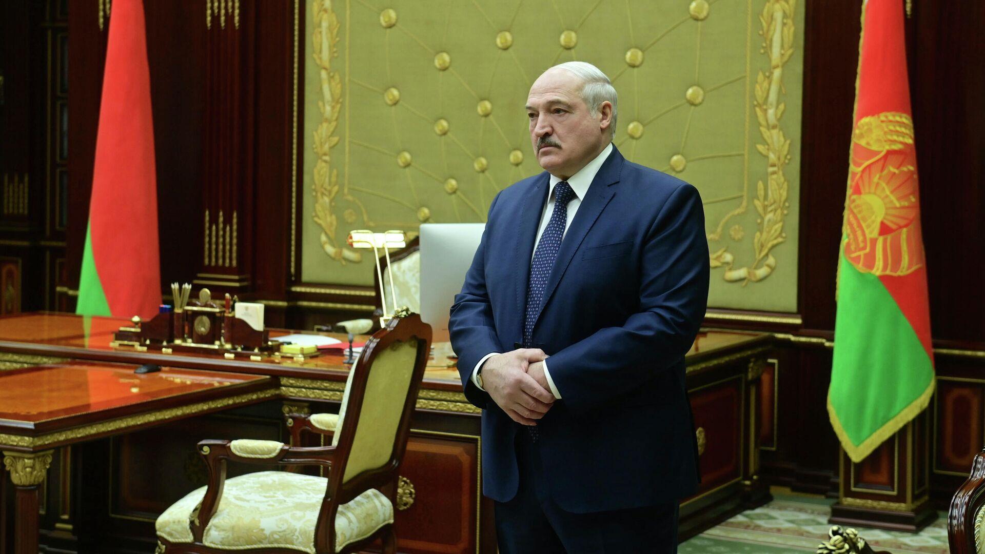 Президент Белоруссии Александр Лукашенко - РИА Новости, 1920, 23.03.2021