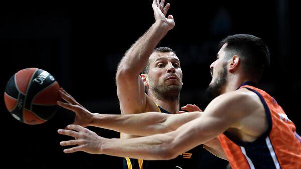 Баскетбол. Евролига. Матч Химки - Валенсия