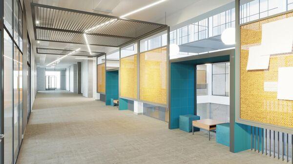 Образовательный центр Холст в ЖК Скандинавия в новой Москве