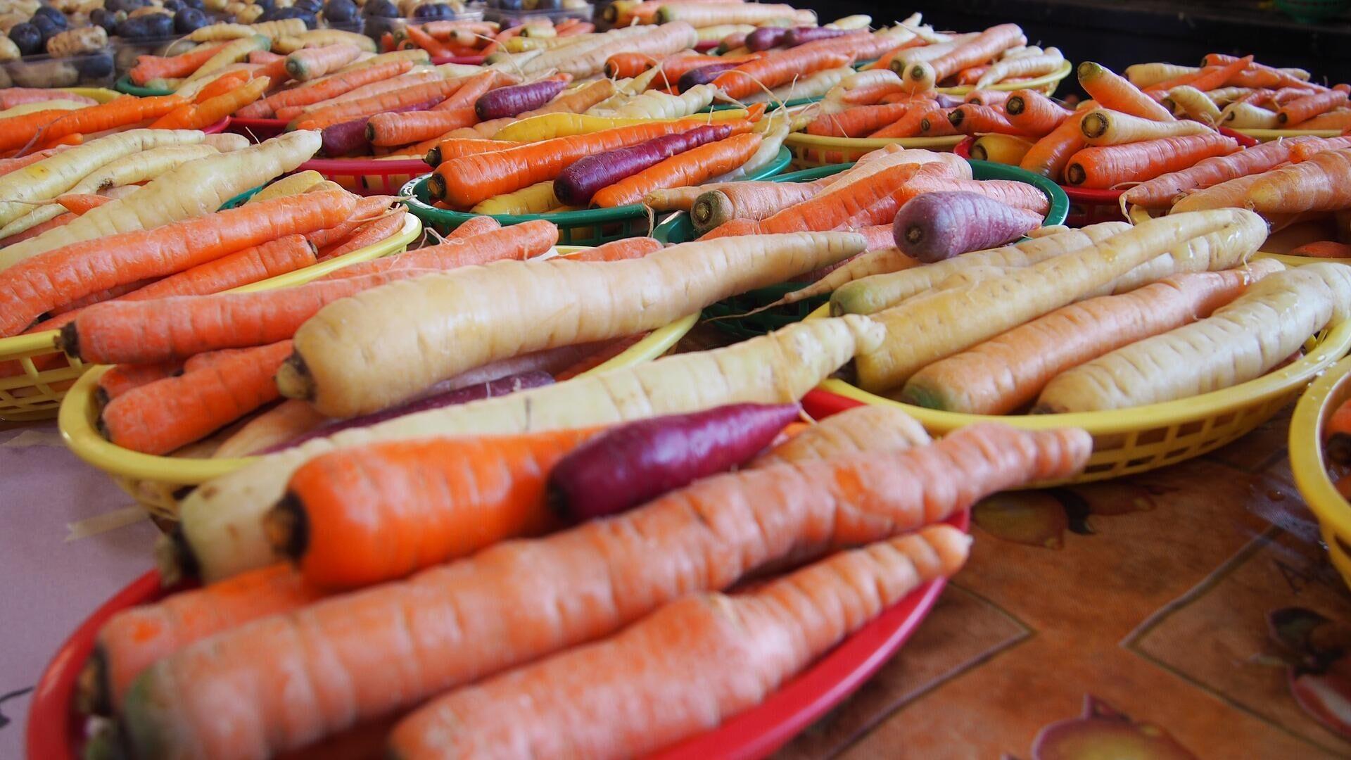 В Росстате сообщили о росте цен на морковь и картофель
