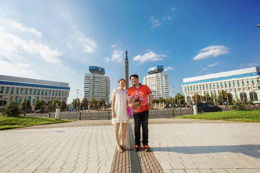 Диана с мужем