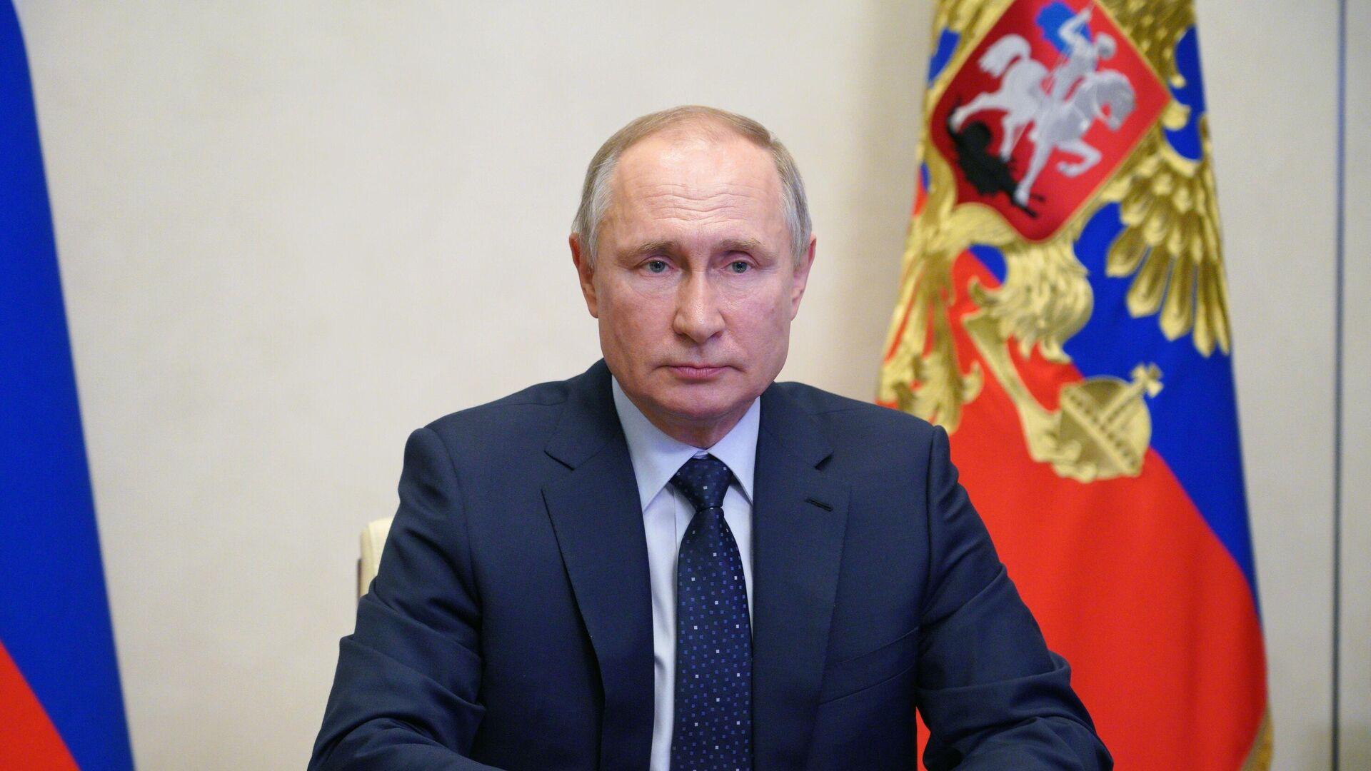 Президент России Владимир Путин  - РИА Новости, 1920, 28.03.2021