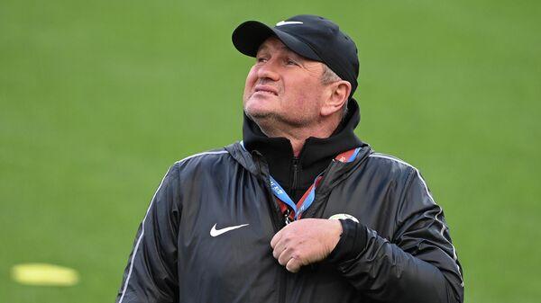 Главный тренер сборной Словении Матьяж Кек