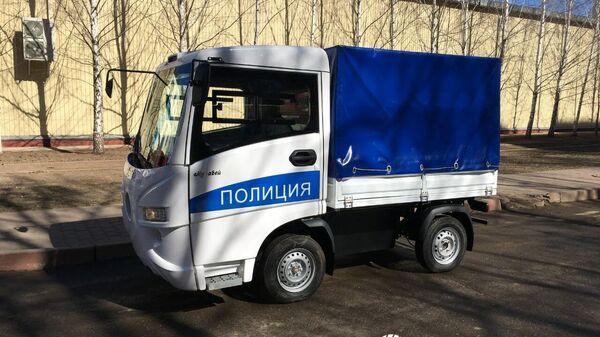 Электромобиль Муравей для полиции, выпускаемый Тульским машзаводом