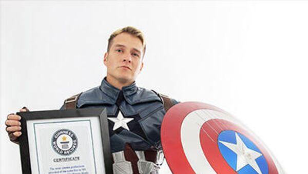 Рекордсмен Книги рекордов Гиннеса, посмотревший фильм Мстители в кинотеатрах 191 раз