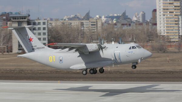 Второй полет Ил-112В