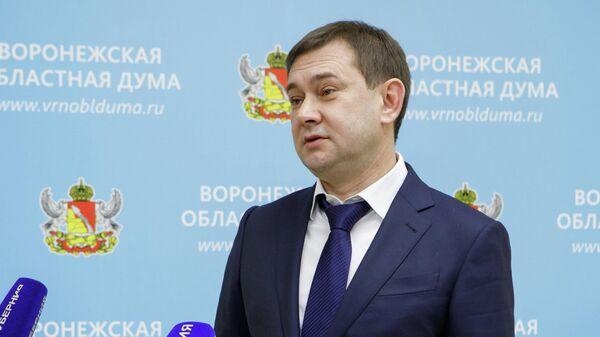 Председатель Воронежской областной думы Владимир Нетесов