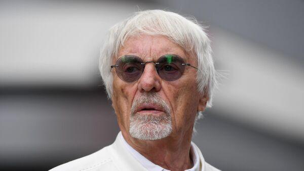 Бывший глава Формулы-1 Берни Экклстоун
