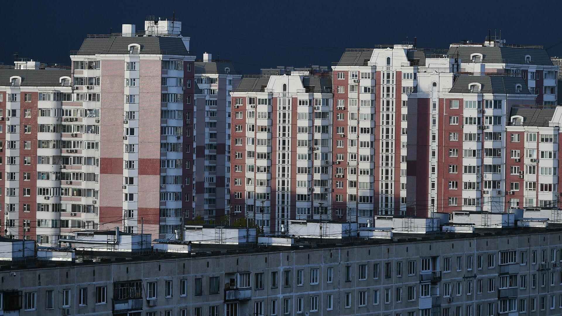 Жилые дома на Химкинском бульваре в Москве - РИА Новости, 1920, 08.04.2021