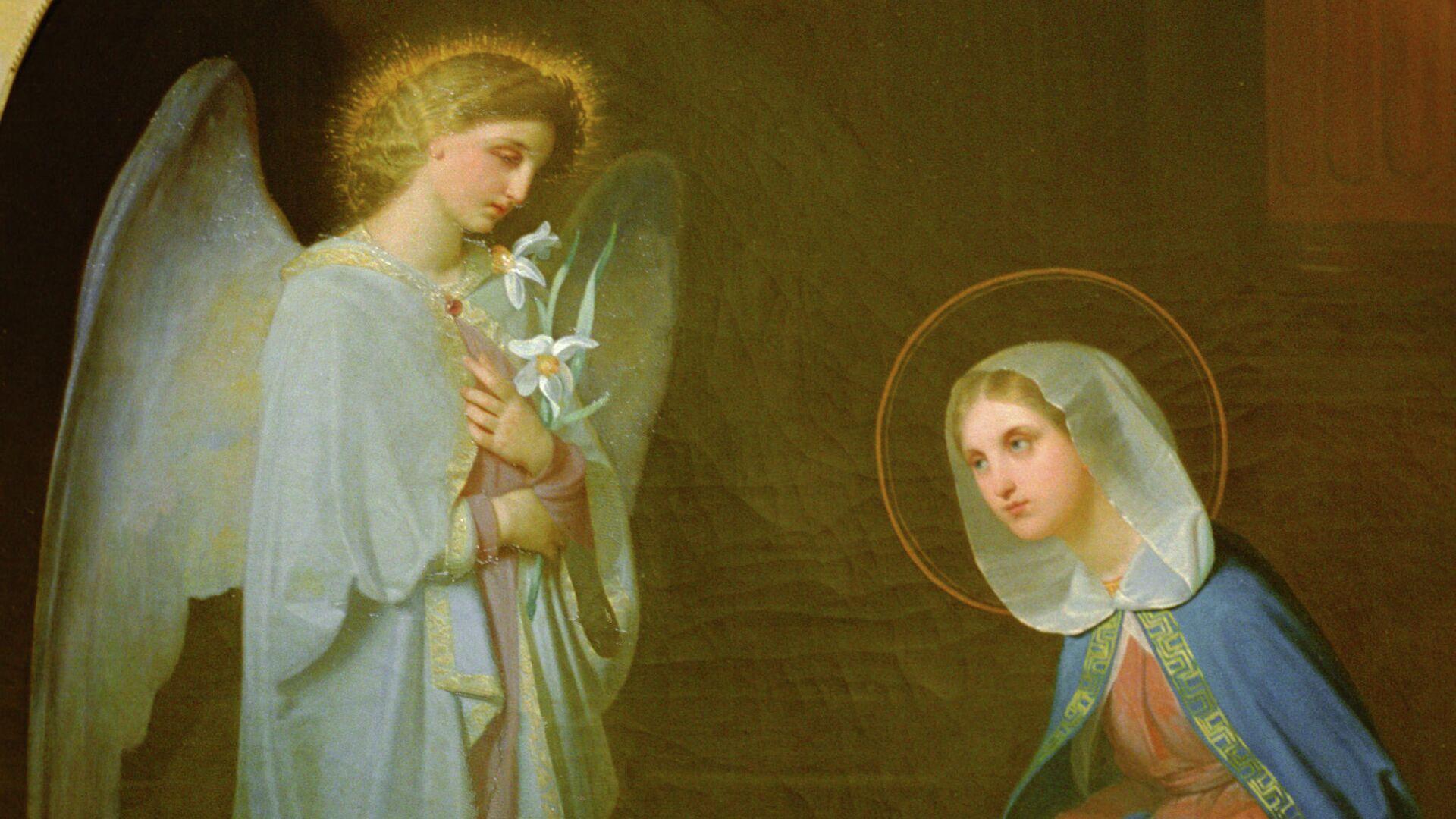Священник призвал воздержаться от целования икон в храмах на Благовещение