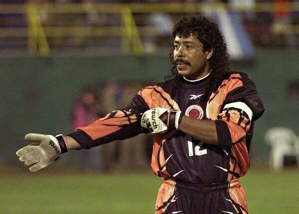 Колумбийский вратарь Рене Игита