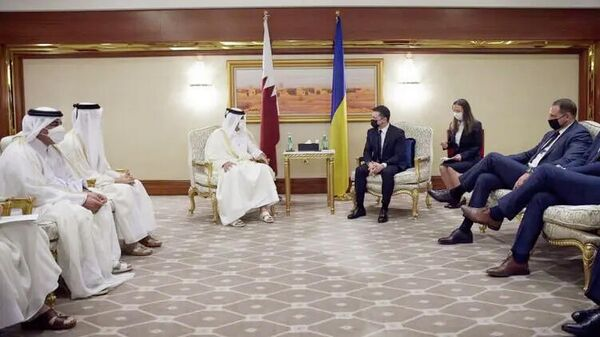 Официальный визит президента Украины в Катар