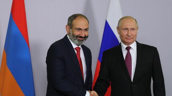 Товарооборот с Арменией восстановят в ближайшее время, заявил Путин