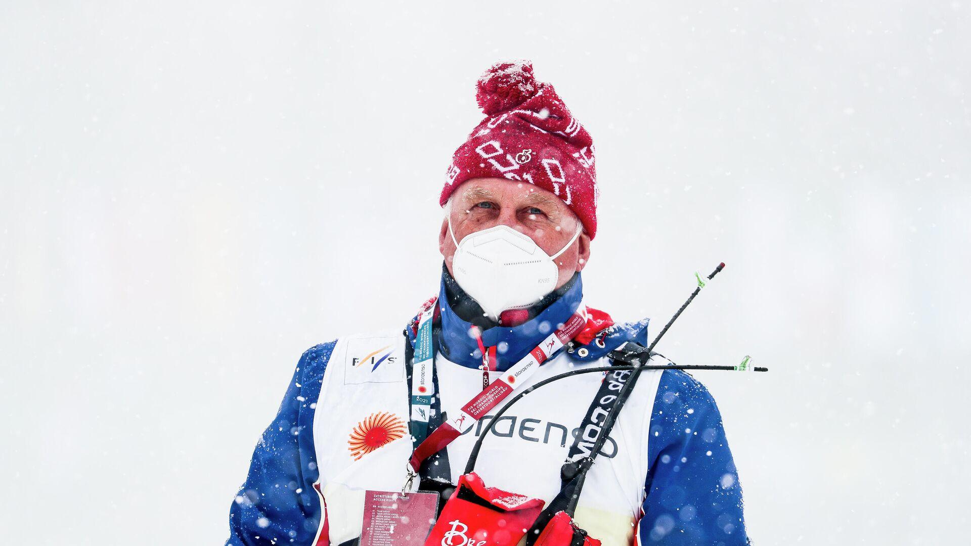 Тренер сборной России по лыжным гонкам Юрий Бородавко - РИА Новости, 1920, 07.04.2021